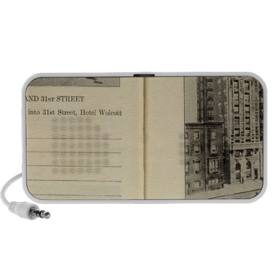28586 Broadway & 31st St Hotel Wolcott Portable Speaker