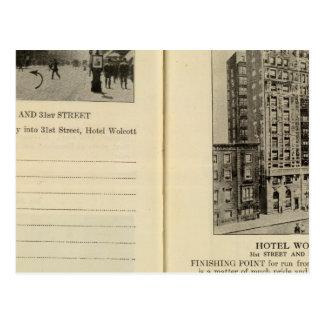 28586 Broadway 31st St Hotel Wolcott Postcard