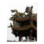 285 - Dragon Temple Post Card
