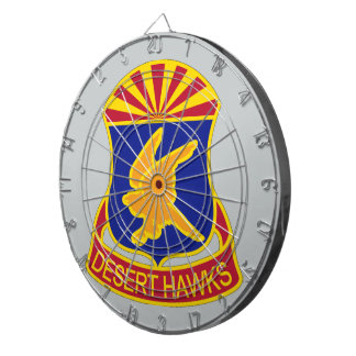 285th Aviation Regiment - Desert Hawks Dartboards