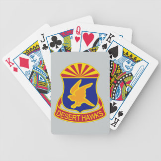 285th Aviation Regiment - Desert Hawks Bicycle Playing Cards