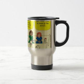 286 Forgiveness in church cartoon Travel Mug