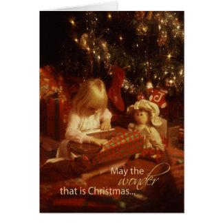 2878 Wonder of Christmas Child Card