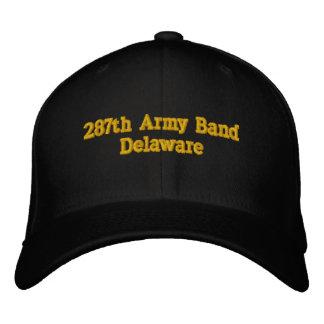 287o Banda Delaware del ejército Gorra De Beisbol