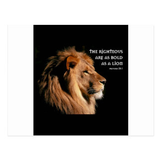 28:1 de los proverbios postal