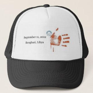 28) Blood Stripes: Flag Print - Benghazi hat