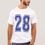 28 Custom Jersey T-Shirt