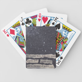 28 - end of space bicycle playing cards