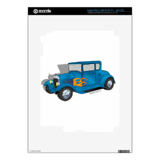 28 Ford 5 Window Model A Coupe Decal For iPad 3