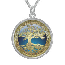 [28] Golden Celtic Tree of Life