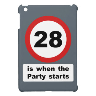 28 is when the Party Starts iPad Mini Cases