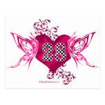 28 mariposas del número que compiten con tarjetas postales