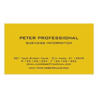 28 Modern Professional Business Card golden yellow