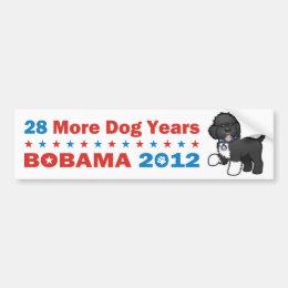 28 More Dog Years - Bobama 2012 Bumper Sticker