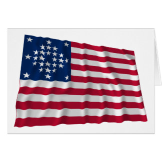 28-star flag, Diamond pattern, Outliers Card