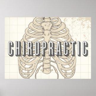 """28"""" x 20"""", Chiropractic Vintage Poster"""