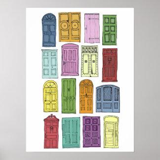 """28"""" x 20"""", Value Poster Paper (Matte) Doors"""