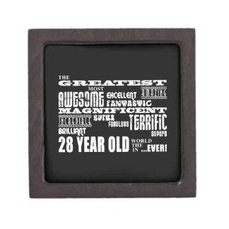 28th Birthday Party Greatest Twenty Eight Year Old Premium Gift Box