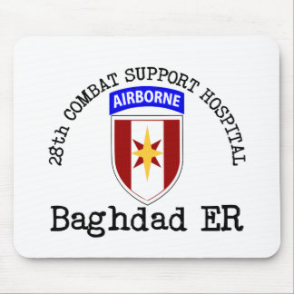 28th CSH Baghdad ER Mouse Pad
