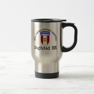 28th CSH Baghdad ER 15 Oz Stainless Steel Travel Mug
