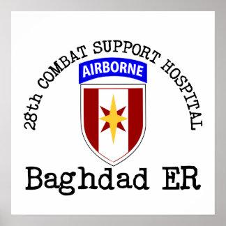 28th CSH Baghdad ER Poster
