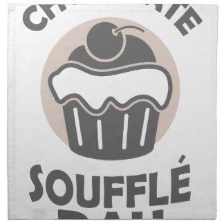 28th February - Chocolate Soufflé Day Napkin