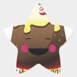 28th February - Chocolate Soufflé Day Star Sticker
