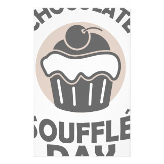 28th February - Chocolate Soufflé Day Stationery