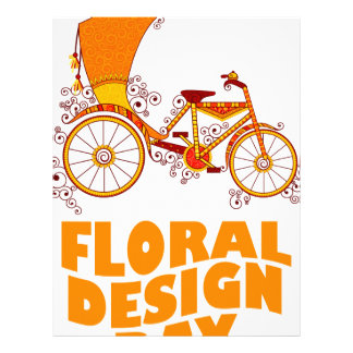28th February - Floral Design Day Letterhead