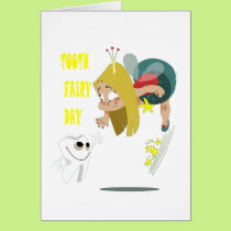 28th February - Tooth Fairy Day - Appreciation Day Card
