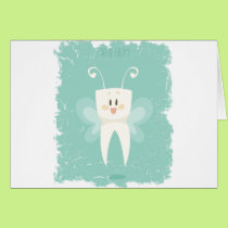 28th February - Tooth Fairy Day Card