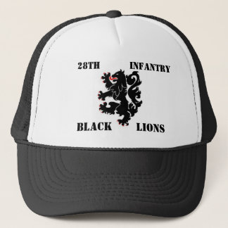 28th Inf. Black Lions cap