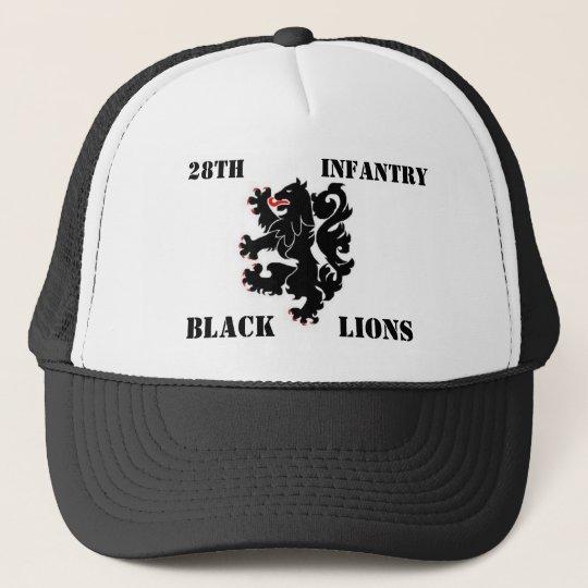 28th Inf. Black Lions cap