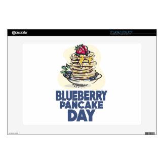 "28th January - Blueberry Pancake Day 15"" Laptop Skins"