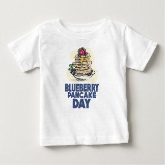 28th January - Blueberry Pancake Day Baby T-Shirt