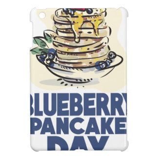 28th January - Blueberry Pancake Day Cover For The iPad Mini