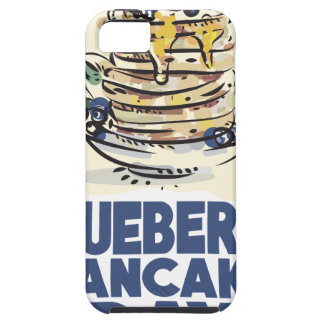 28th January - Blueberry Pancake Day iPhone SE/5/5s Case