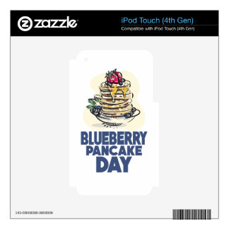 28th January - Blueberry Pancake Day iPod Touch 4G Decals