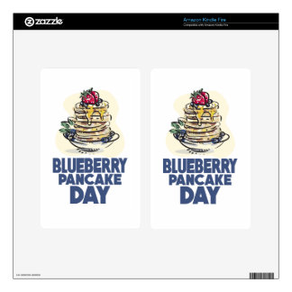 28th January - Blueberry Pancake Day Kindle Fire Skins