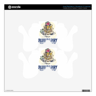 28th January - Blueberry Pancake Day PS3 Controller Decals