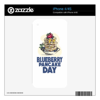 28th January - Blueberry Pancake Day Skin For The iPhone 4S
