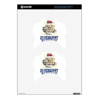 28th January - Blueberry Pancake Day Xbox 360 Controller Decal