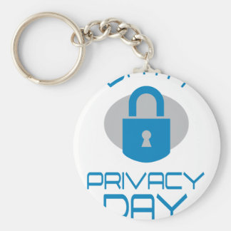 28th January - Data Privacy Day - Appreciation Day Keychain