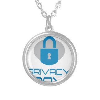 28th January - Data Privacy Day - Appreciation Day Silver Plated Necklace