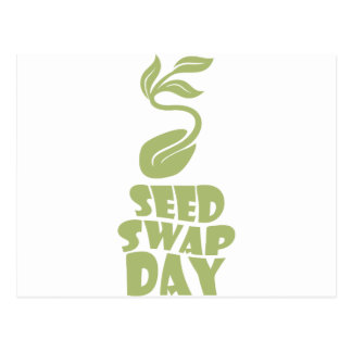 28th January - Seed Swap Day - Appreciation Day Postcard