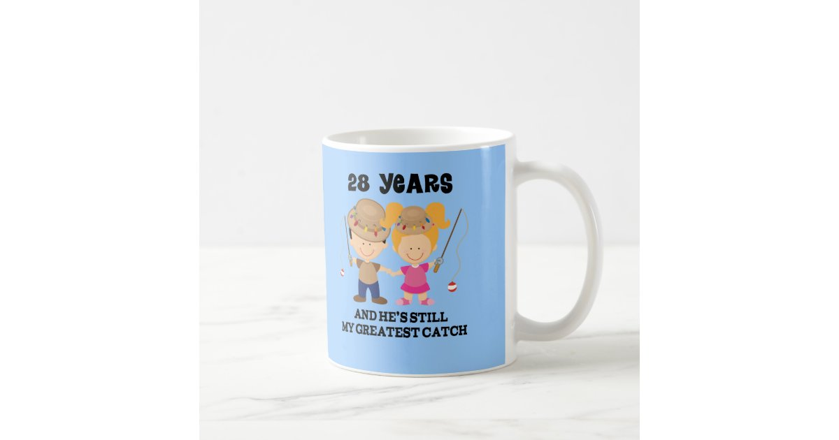 28th Wedding Anniversary Gift: 28th Wedding Anniversary Gift For Her Coffee Mug