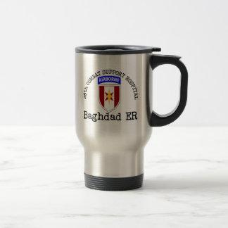 28vo cuarto CSH Bagdad ER Taza De Viaje