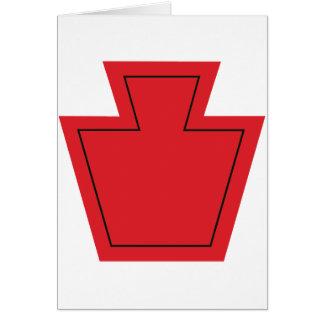 28vo cuarto División de infantería Tarjeta De Felicitación