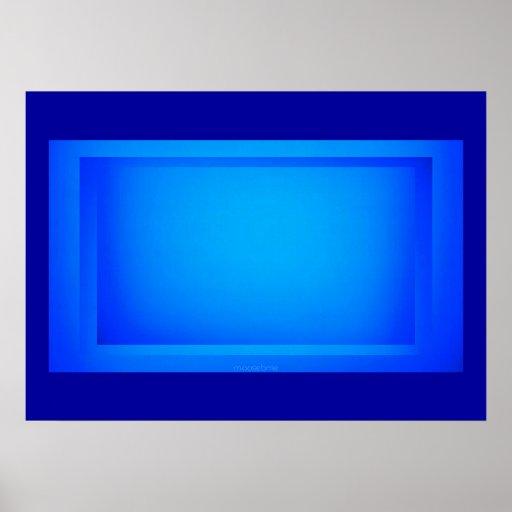 28x20 Blue Screen Print