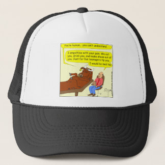 290 mad cow cartoon trucker hat